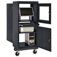 COMPUTER CABINETS  sc 1 st  Gilmore-Kramer Company & Computer Cabinets Mobile Computer Cabinets Computer Security Cabinet