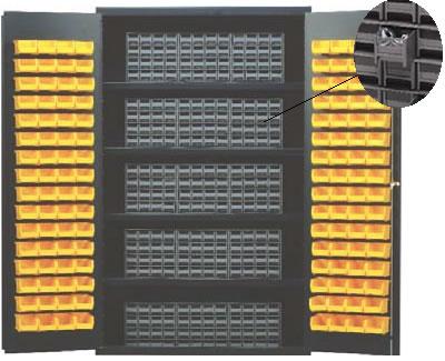 Sloped Shelf Pick Rack Flow Cabinet