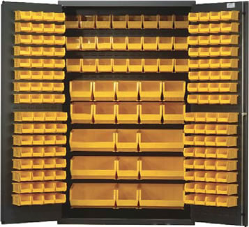 48  wide all-welded bin cabinets ...  sc 1 st  Gilmore-Kramer Company & Heavy Duty All-Welded Bin Cabinets Plastic Bin Welded Cabinet Bin ...