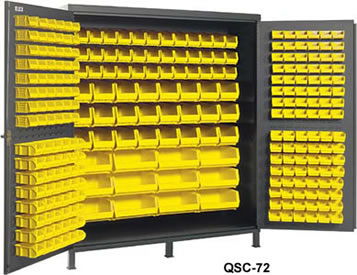 Heavy Duty All Welded Bin Cabinets Plastic Cabinet Storage