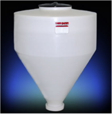 Pharmaceutical Processing Hoppers Conical Bottom Bulk