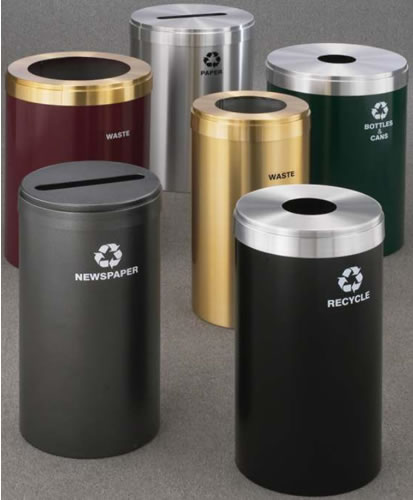 Waste Receptacles, Office Recycling Bin, Recycle, Recycle Container, Recycle  Trash Can, Trash Receptacles, Recycling Containers