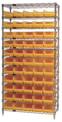 Shelf Bin Wire Shelving Systems, Shelf Bin Systems, Shelf Bin Wire ...