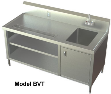 Stainless Sink Table : ... , NSF Sinks, Stainless Steel Sink, Utility Sinks, Specialty Tables