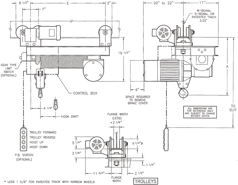 hoist wiring diagram 4 speed saturn wire rope hoists, single hook monorail hoists, electric hoists